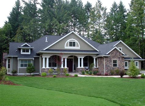 craftsman country house plans colonial country craftsman house plan 87646