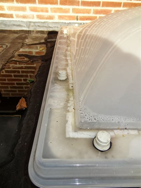 lichtkoepel tape condens in lichtkoepel koepellux