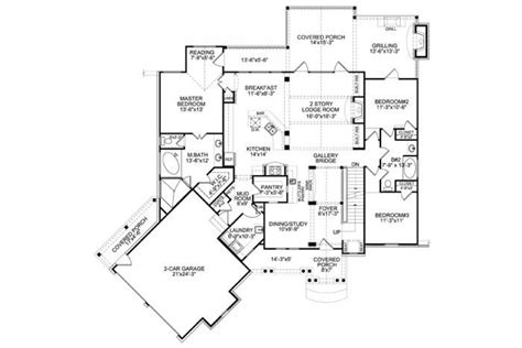 daylight basement plans nantahala bungalow 1st floor floor plan home sweet home exteriors