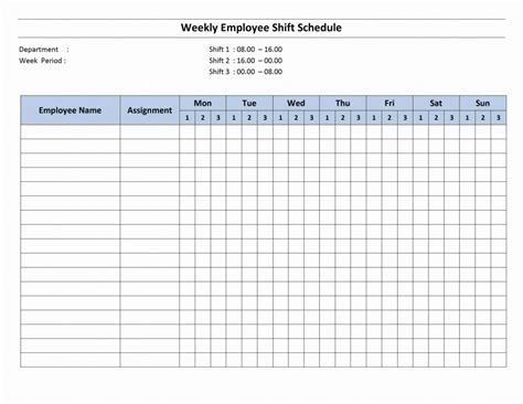 weekly schedules templates calendar template 2016