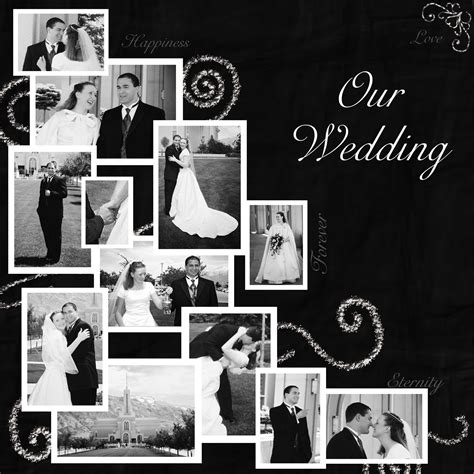 wedding layout images the very beginning of my scrapbooking journey taumarunui