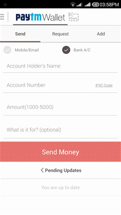 Transfer Bank 10000 how to transfer paytm money to your bank account