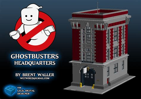 Lego Ghostbusters House by Lego Ghostbusters Firehouse Headquarter 75827 Rumored For January 2016 The Brick Fan