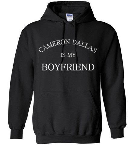Jaket Hoodie Sweater Cameron Dallas Magcon Boys 4 cameron dallas is my boyfriend hoodie the o jays jets and my boyfriend