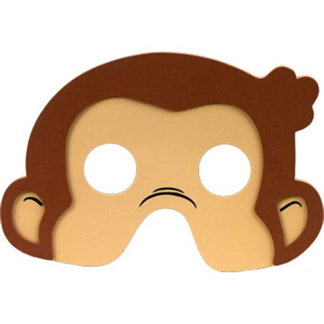 printable monkey mask image search results