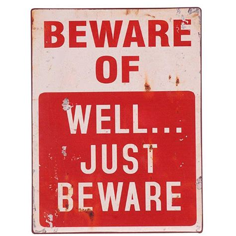 beware of signs beware sign by lindsay interiors notonthehighstreet