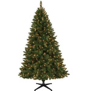 tree lights walmart time 6 5 windham pine artificial tree