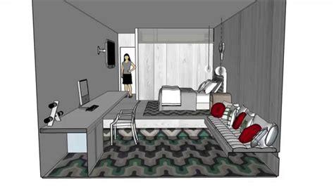 sketchup tutorial room layout sketchup hotel room youtube