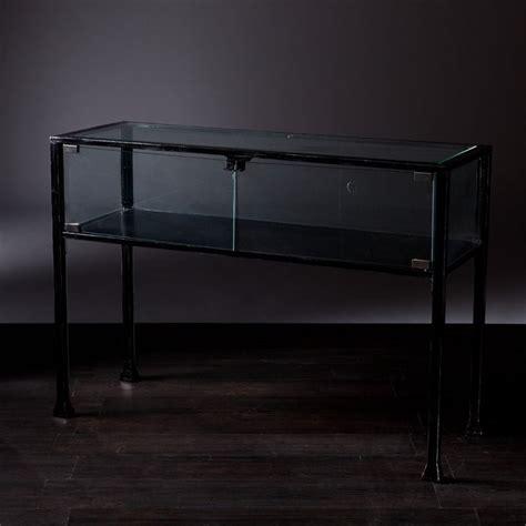 southern enterprises terrarium display console table zulily southern enterprises terrarium display console in black