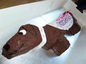 cakes from kim sausage dog cake