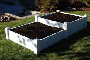 pvc planter boxes garden planting boxes from sturdy vinyl