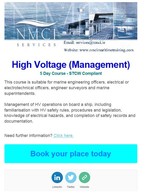 high voltage course uk high voltage management course