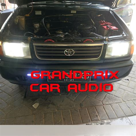 Lu Hid Mobil Gartner grandprix car audio tlp 081216152345 toko dan bengkel tempat pasang audio alarm central lock