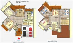 3 bedroom villa floor plans mirdif dubai floor plans
