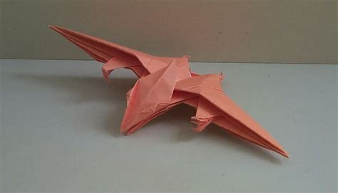 Origami Pteranodon - origami pteranodon