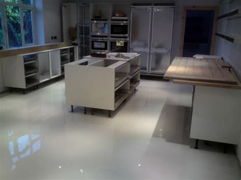 Poured Concrete Kitchen Floor by Polished Concrete Floors And Poured Resin Flooring