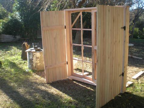 puerta con ventana puerta ventana con postigones en madera todas las medidas