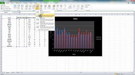 ms excel 2010 tutorial in urdu 5 6 add data labels to charts ms excel urdu ms