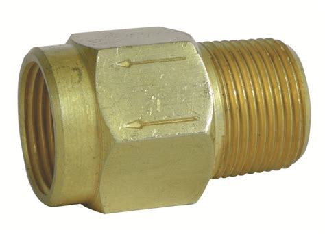 Plumbing Backflow Valve by Camco Rv Fresh Water System Backflow Preventer 1 2