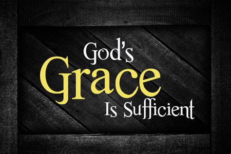 god s grace is on the way let go embrace books god s grace is sufficient church at grove farm