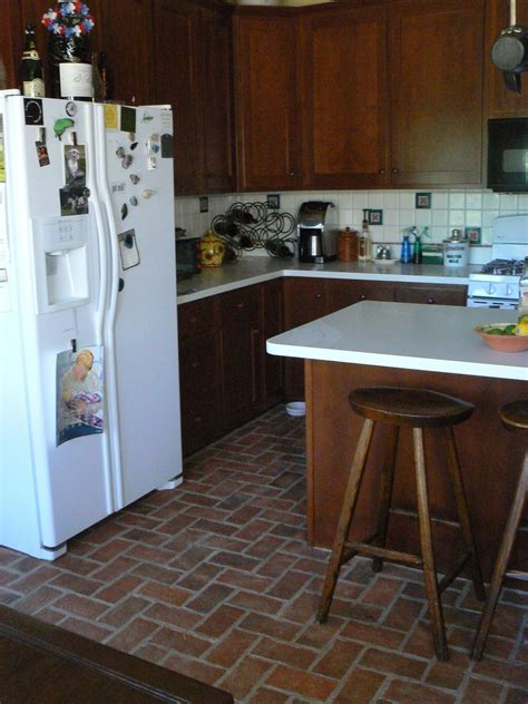 Brick Kitchen Floor Brick Laminate Picture