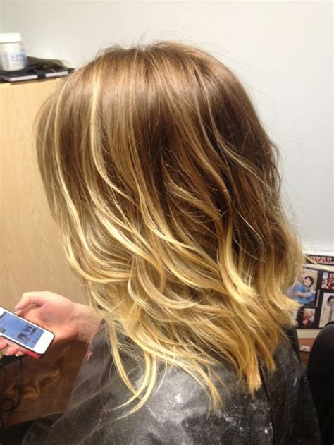 blonde hairstyles 2015 pinterest ombre blonde long bob haircut by allyson hair