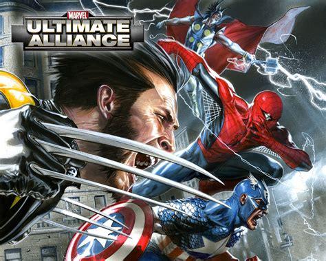 ultimate captain america wallpaper marvel ultimate alliance computer wallpapers desktop