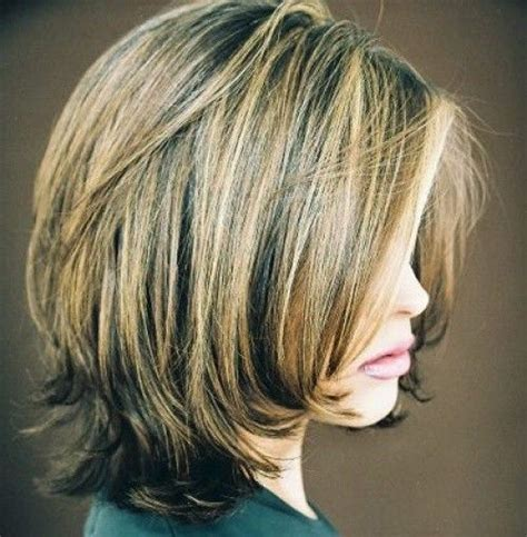 medium length textured bob 20 great shoulder length layered hairstyles pretty designs