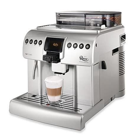 bed bath and beyond espresso philips saeco royal one touch cappuccino automatic
