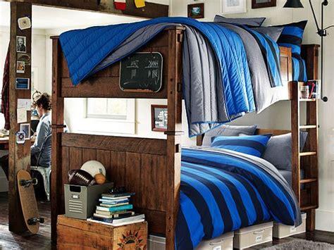 wooden bedroom  teenage boys decoist