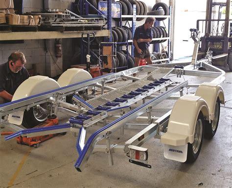 aluminum boat trailers brisbane seatrail delivers terrific boat trailers bush n beach