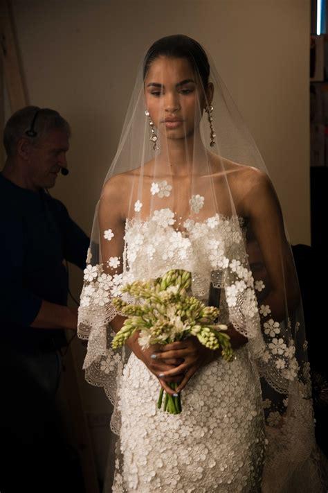 spring  wedding dress oscar de la renta bridal gowns