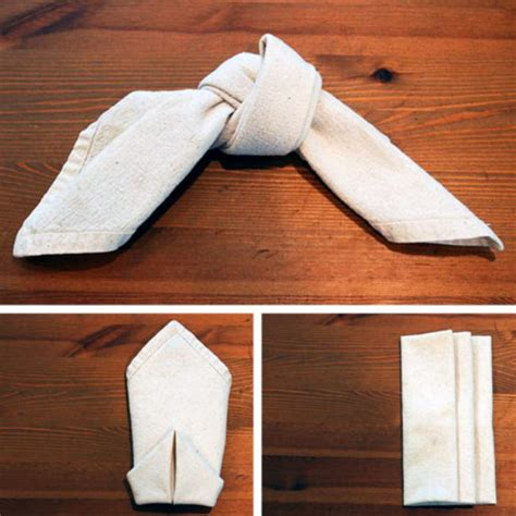 Easy Napkin Origami - 16 ways to fold napkins tip junkie