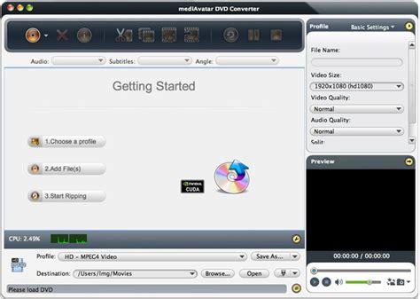 dvd format converter mac mediavatar dvd converter mac dvd ripper software 50 mac