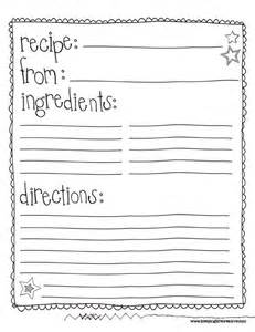 25 best ideas about recipe templates on pinterest