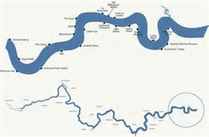 River Thames Outline by Map Of Canada For