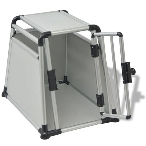 gabbia per trasporto cani vidaxl gabbia per trasporto cani in alluminio m vidaxl it