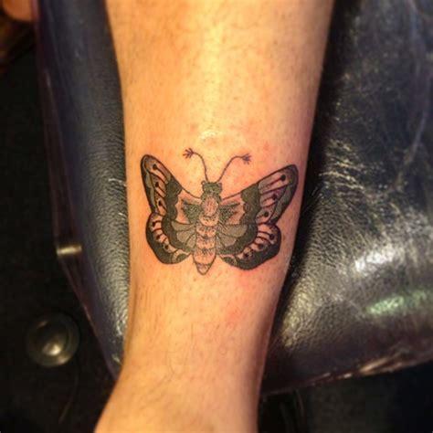 tattoo ink good quality quality left arm grey ink moth tattoo