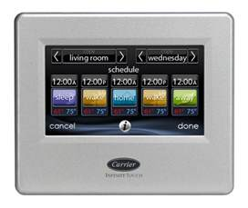 Carrier Infinity Thermostat Installation Of Air Conditioning Equipment Heat Pumps And