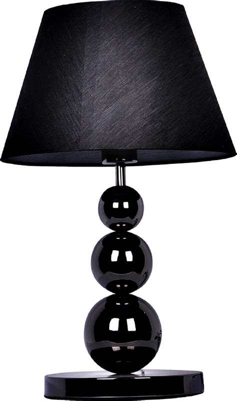 two tier l shade elegant designs pearl black three tier ball l