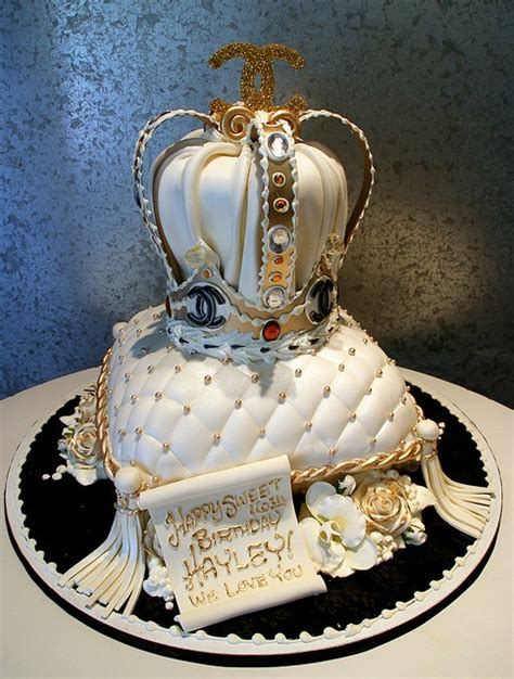 Crown On Pillow Cake by Chanel Crown On Pillow Cake Fancy Cakes