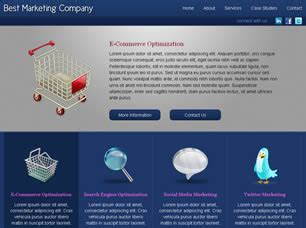 Free Html Templates For Advertising Company | marketing company free website template free css