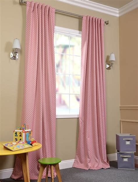 peach drapes peach polka dot blackout curtain contemporary curtains