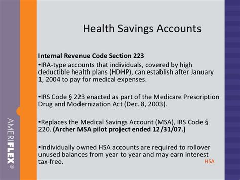 Internal Revenue Code Section 223 28 Images Webinar