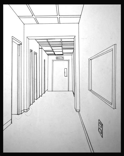 in a hallway single view reconstruction cs195g