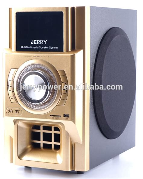 Jual Speaker Aktif Optical Input sound system jerry power 2 1 speakers with optical input power lifiers professional buy 2 1