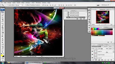 tutorial photoshop cs3 profesional bahasa indonesia tutorial photoshop cs3 bahasa indonesia permainan cahaya