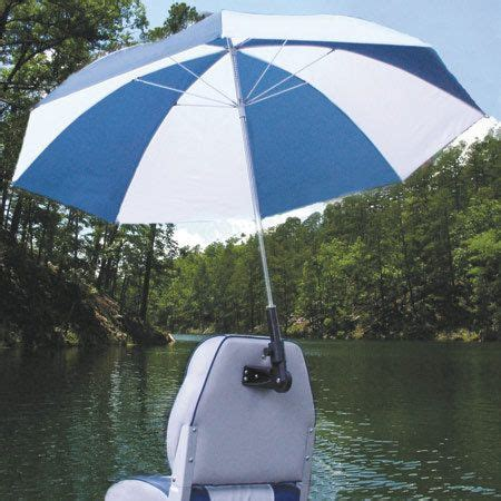 boat with umbrella overton s real shade boat seat umbrella with bracket