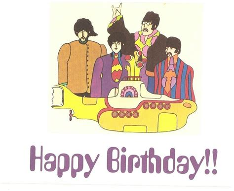 download mp3 the beatles happy birthday the beatles yellow submarine birthday card