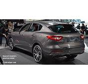 Chrysler Based Maserati Levante Crossover / SUV